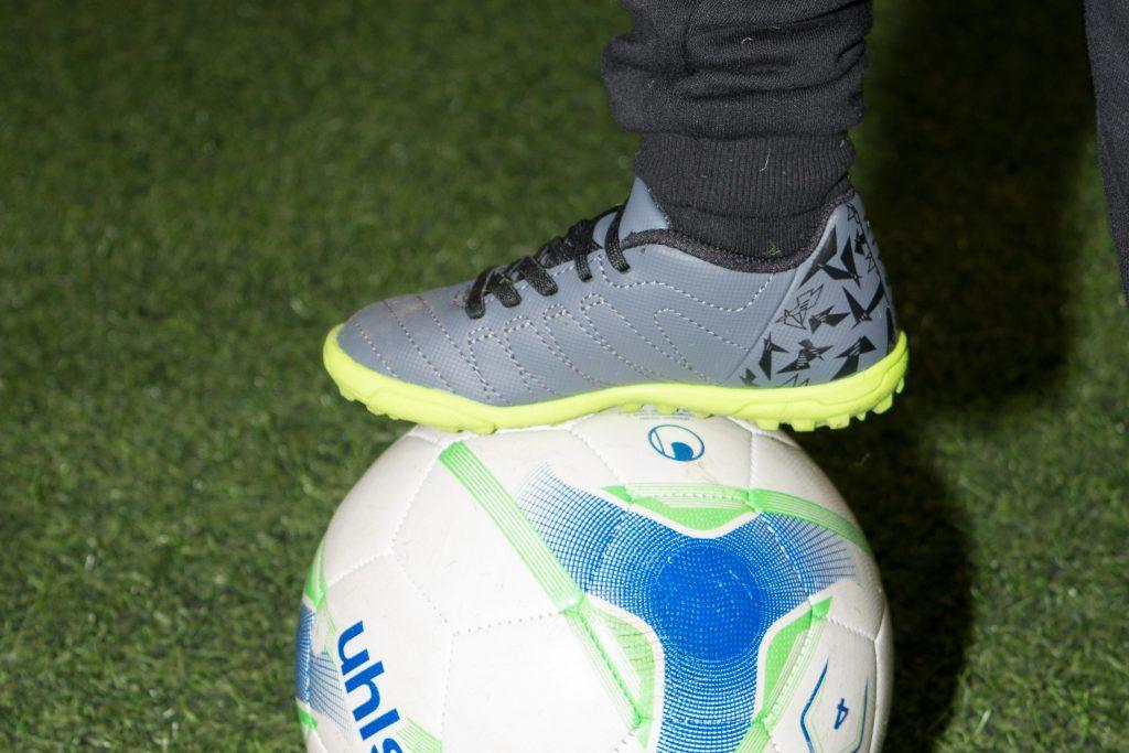 Foot on Football